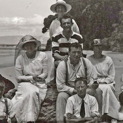 Family Group, Waihi Beach.