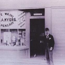 J H E A Myers Dispensary, c1900.