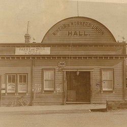 Miners & Workers Union Hall, c1912.