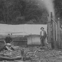 Miners camp Golden Cross.
