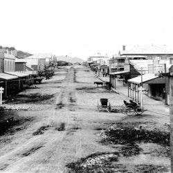 Seddon Street, c1900.