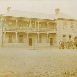 Sterling Hotel, M Pilling proprietor, pre 1919.