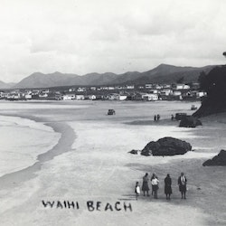 Waihi Beach - North End.
