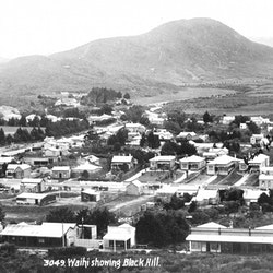 Waihi, Showing Black Hill, 1913.