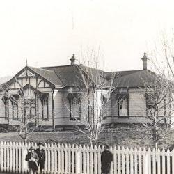 Waihi Law Courts, Kenny Street, c1900.