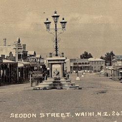 Waihi Seddon Street, 1907.