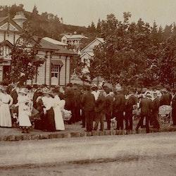 Waihi strikers, 1912.