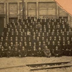 Waikino Staff pre 1912.