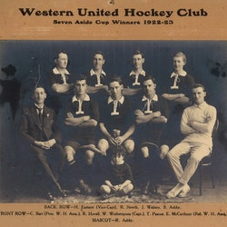 Western United Hockey Club, 1922 -1923.